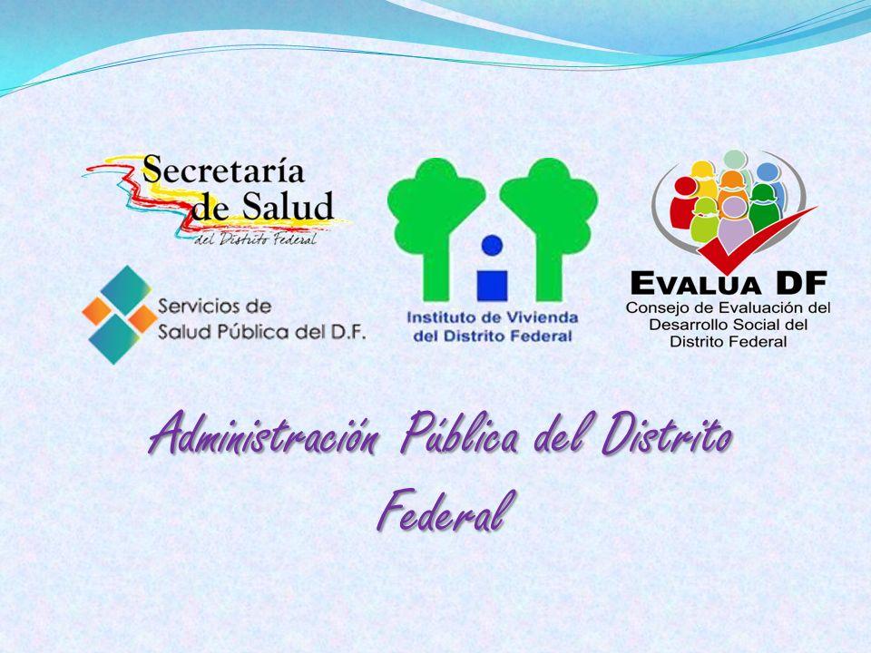Administración Pública del Distrito Federal