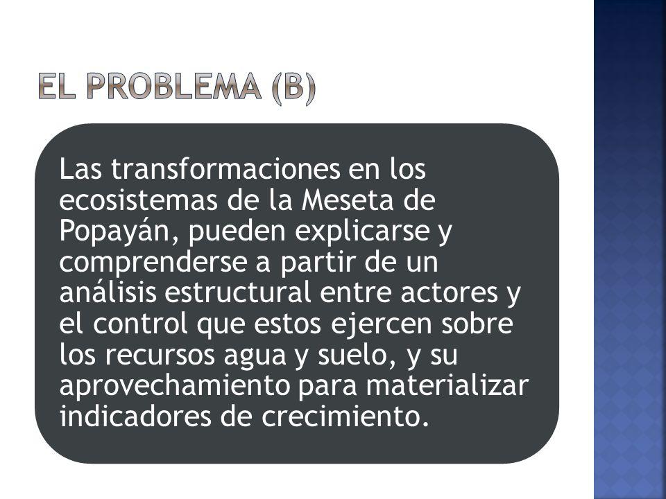 El problema (b)