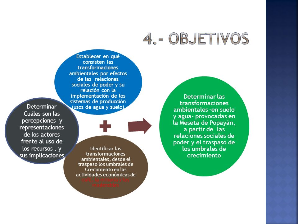 4.- Objetivos