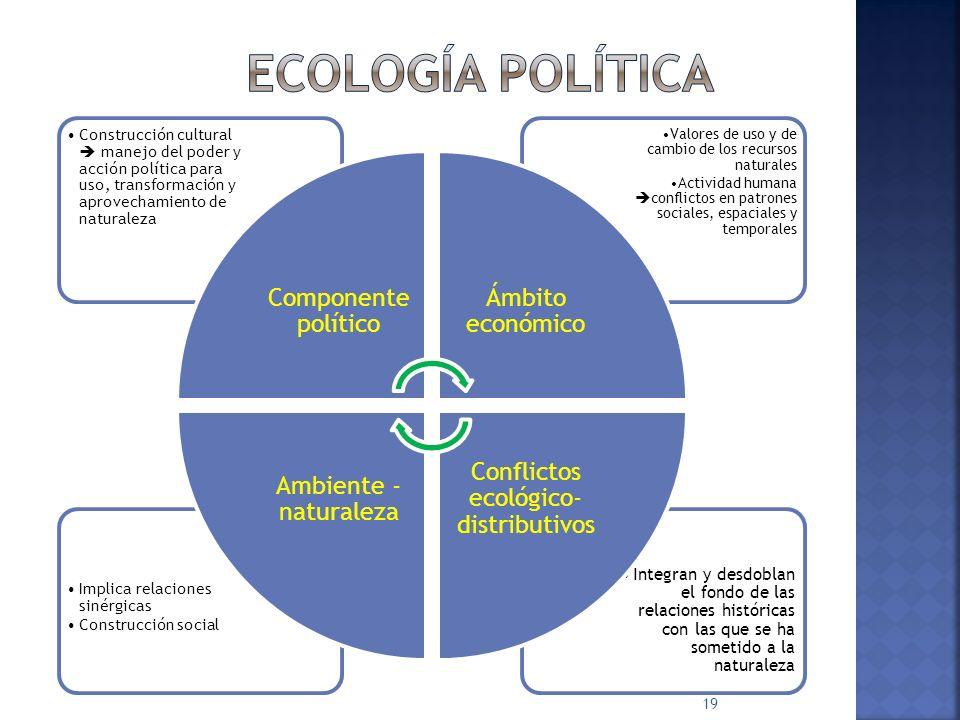 Conflictos ecológico- distributivos
