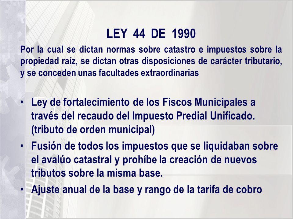 LEY 44 DE 1990