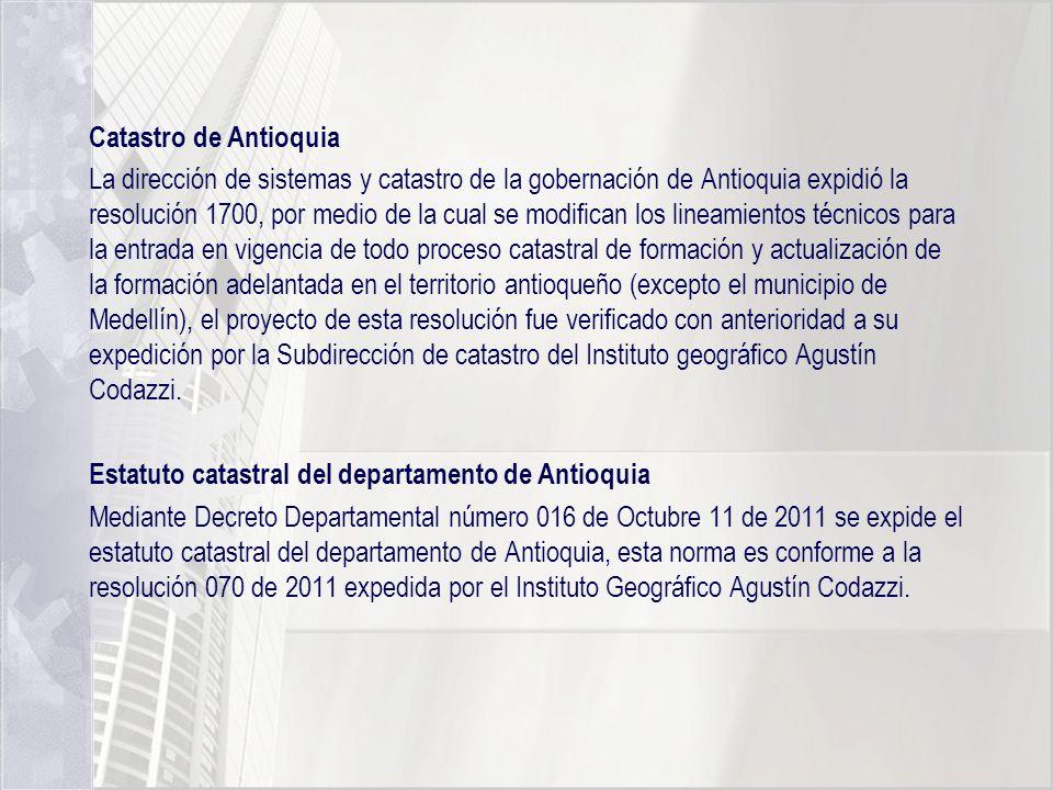 Catastro de Antioquia