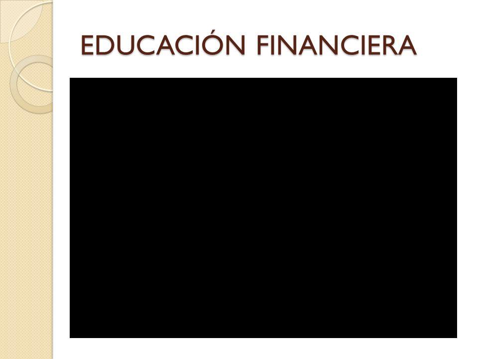 EDUCACIÓN FINANCIERA Campaña de BBVA: ¿Estamos de acuerdo con dicha definición , ¿Pensamos en otra definición .
