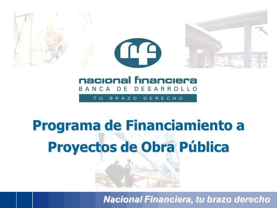 Programa de Financiamiento a Proyectos de Obra Pública