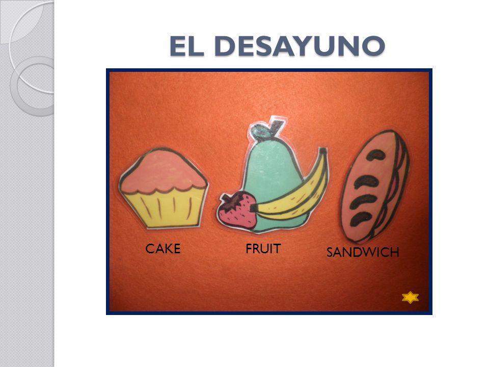 EL DESAYUNO CAKE FRUIT SANDWICH