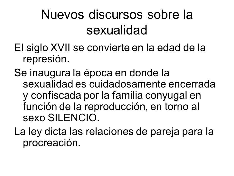 Nuevos discursos sobre la sexualidad