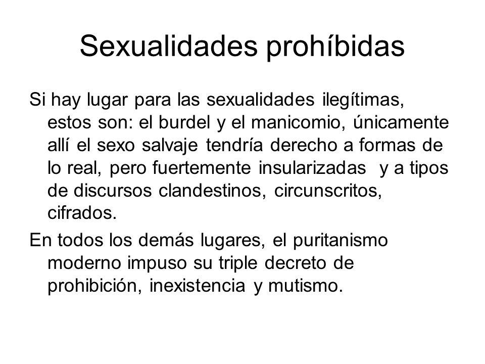 Sexualidades prohíbidas