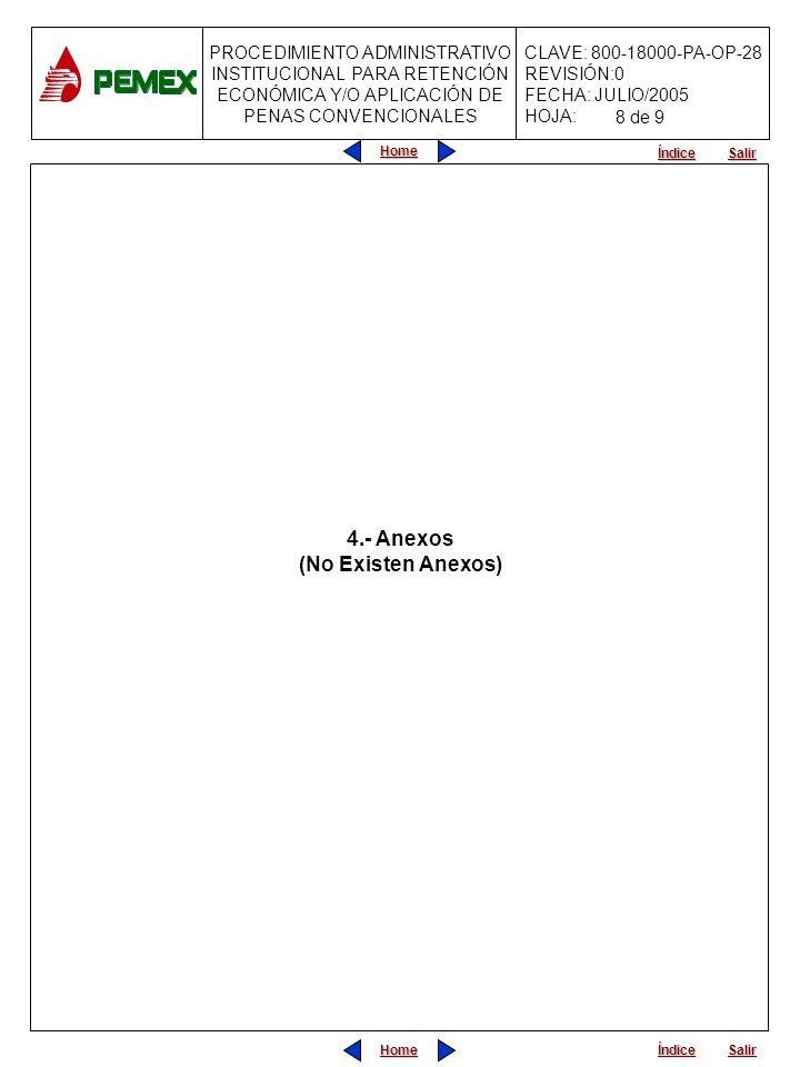 4.- Anexos (No Existen Anexos)