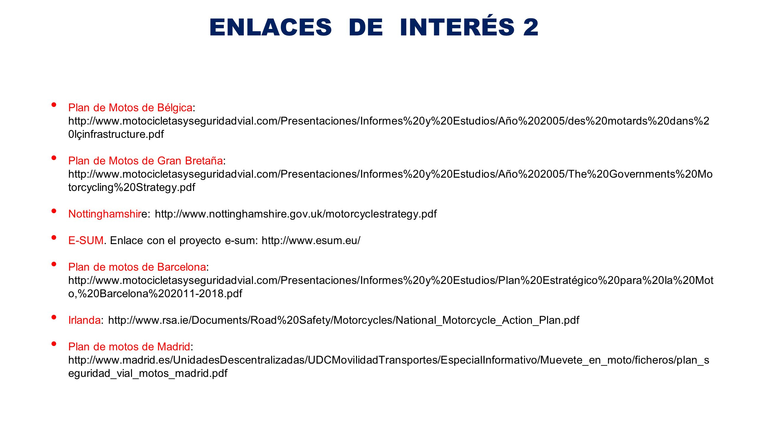 ENLACES DE INTERÉS 2