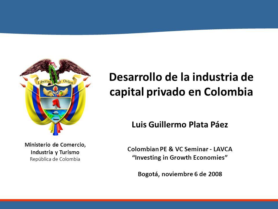 Desarrollo de la industria de capital privado en Colombia