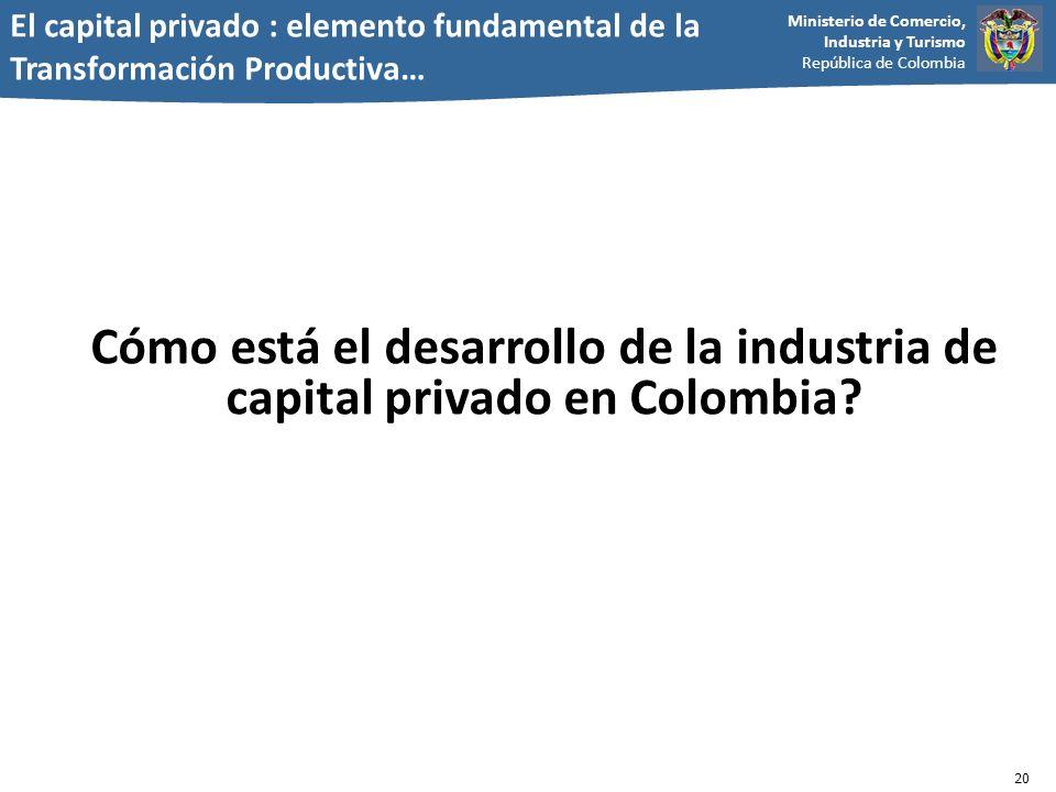 El capital privado : elemento fundamental de la