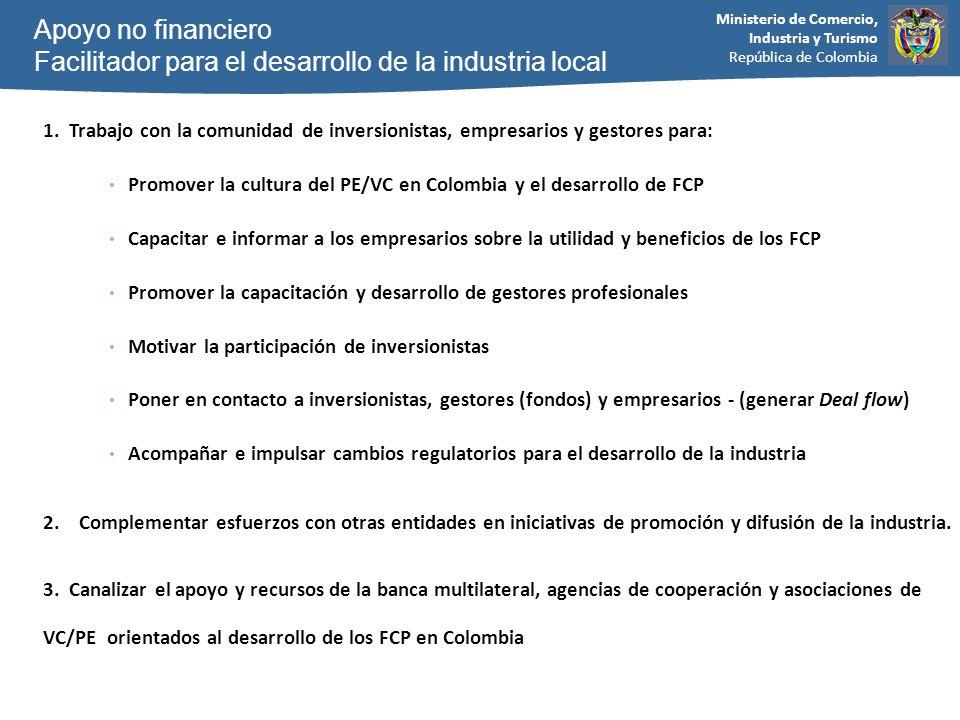 Facilitador para el desarrollo de la industria local