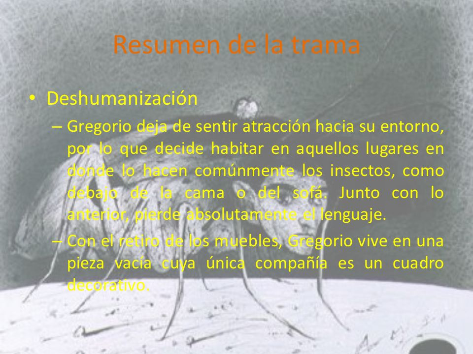 Resumen de la trama Deshumanización