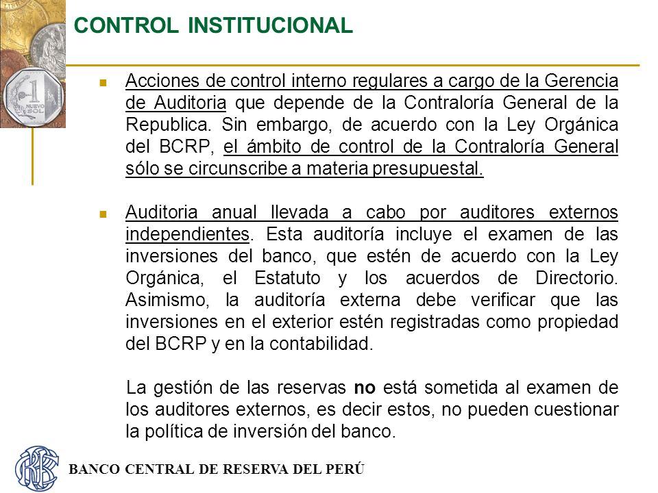 CONTROL INSTITUCIONAL