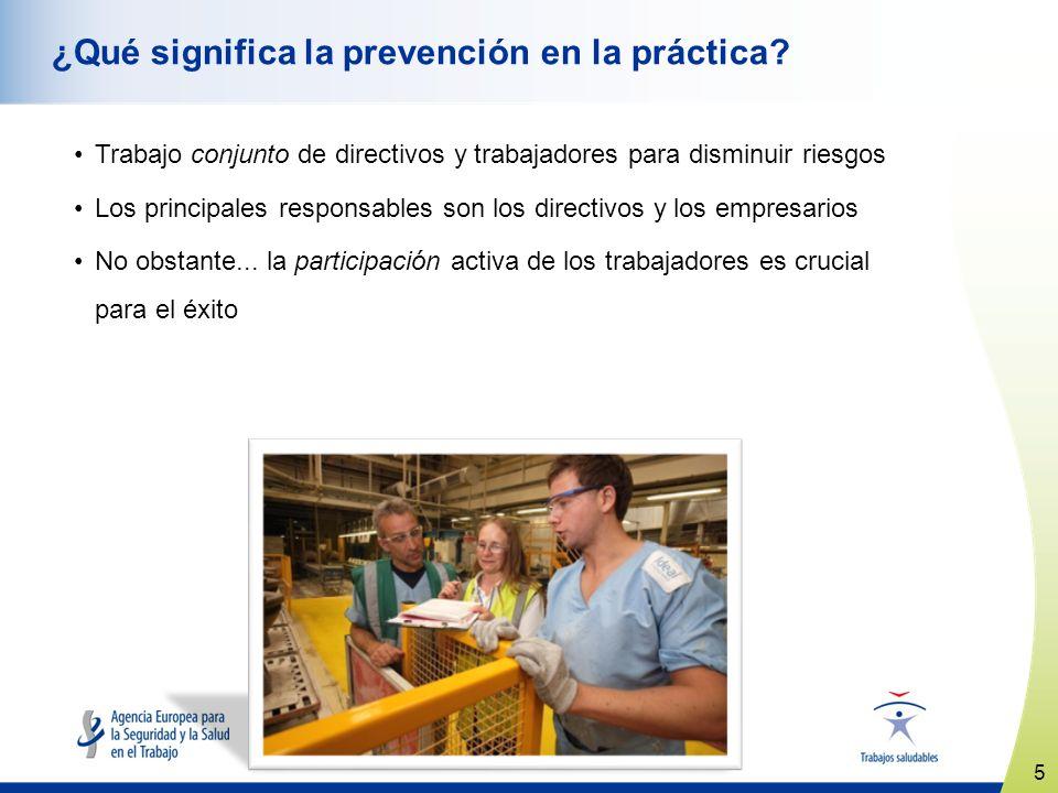 ¿Qué significa la prevención en la práctica