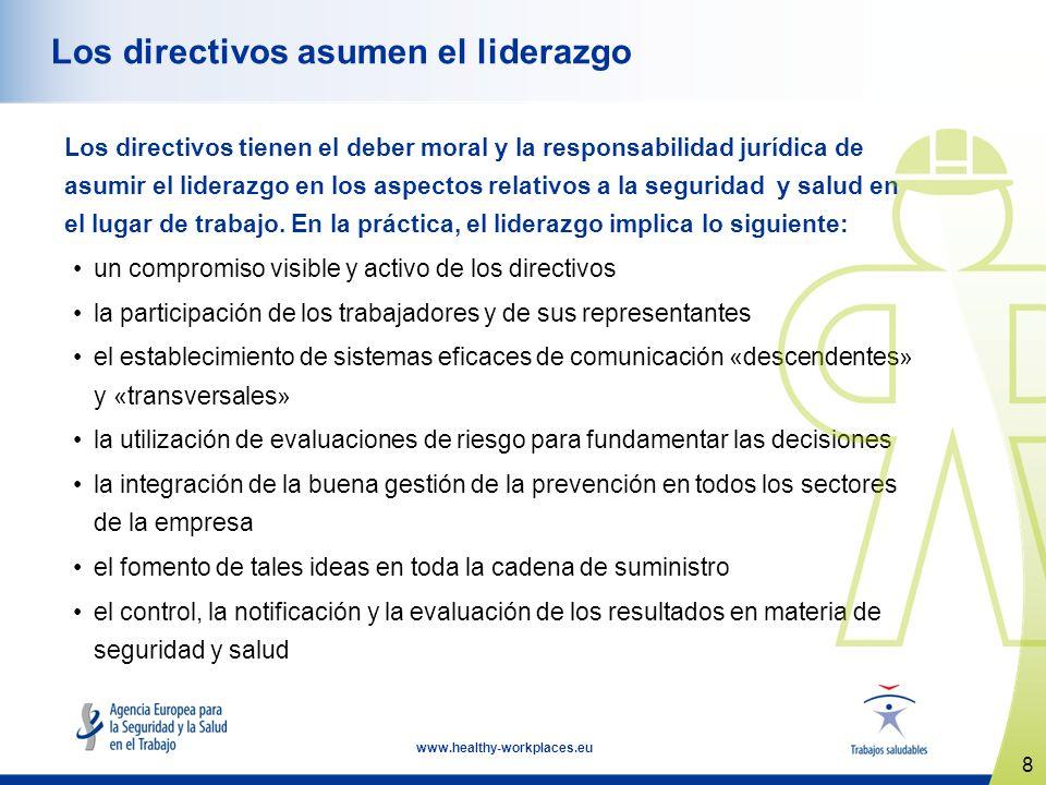 Los directivos asumen el liderazgo