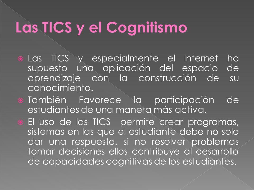 Las TICS y el Cognitismo