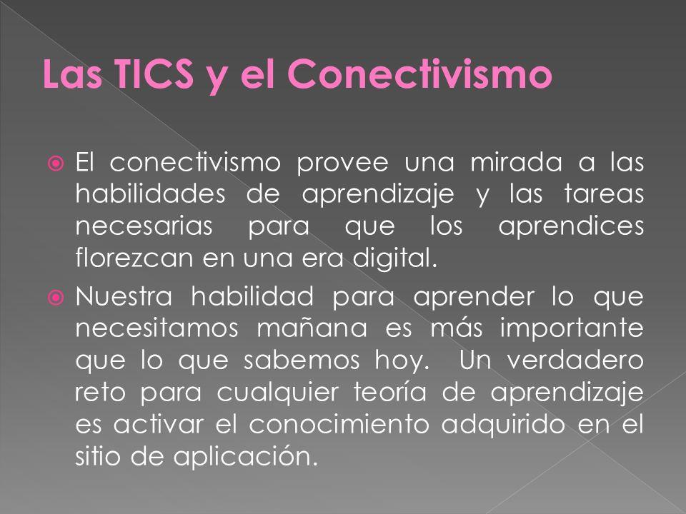 Las TICS y el Conectivismo