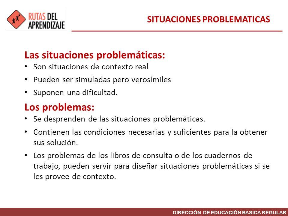 SITUACIONES PROBLEMATICAS