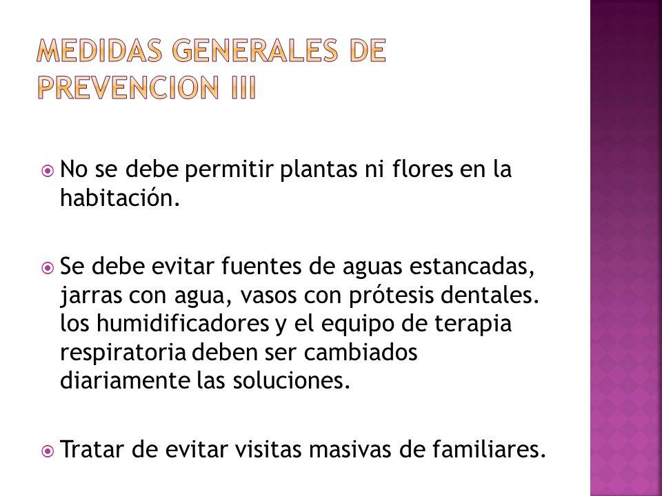 Medidas generales de prevencion iii