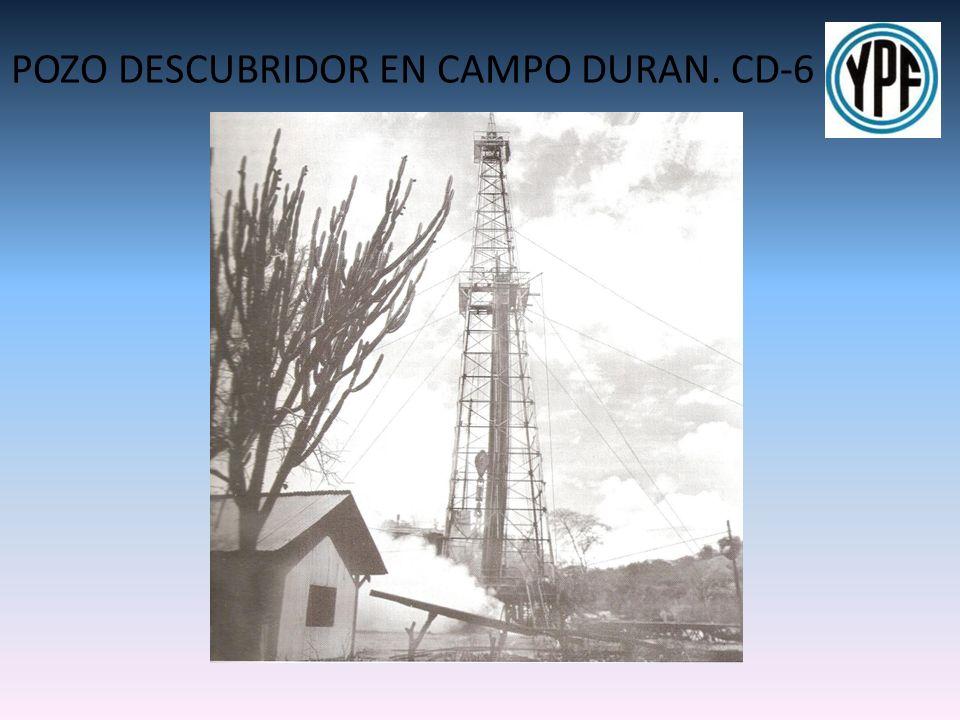 POZO DESCUBRIDOR EN CAMPO DURAN. CD-6