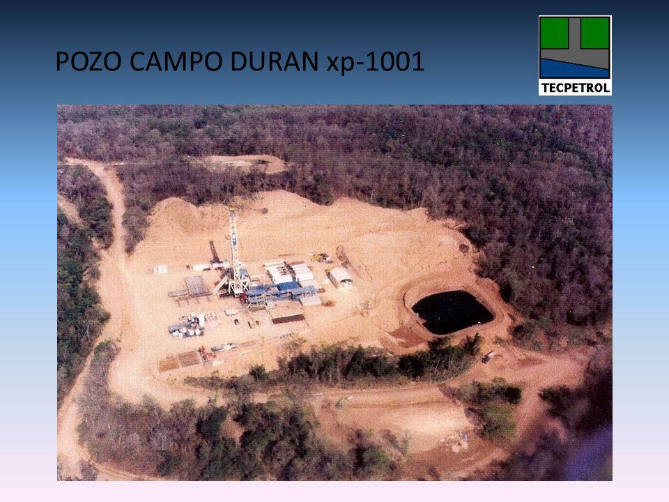 POZO CAMPO DURAN xp-1001