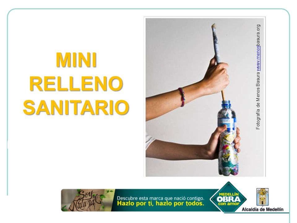 MINI RELLENO SANITARIO