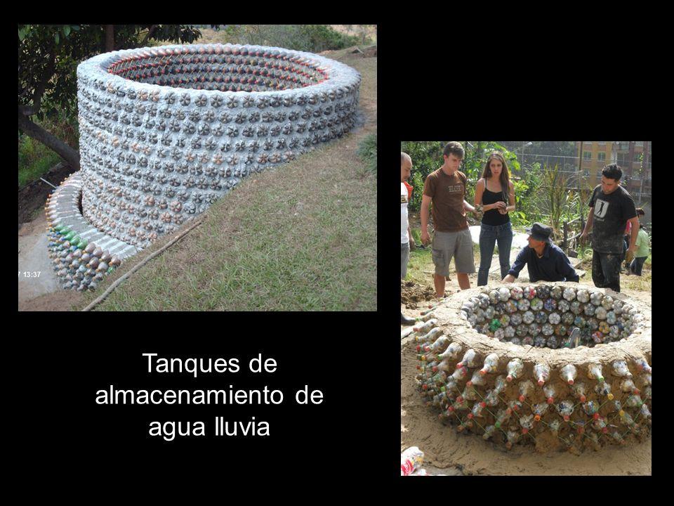 Tanques de almacenamiento de agua lluvia