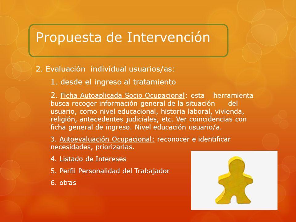 Propuesta de Intervención