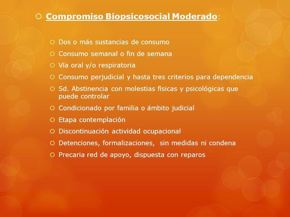 Compromiso Biopsicosocial Moderado: