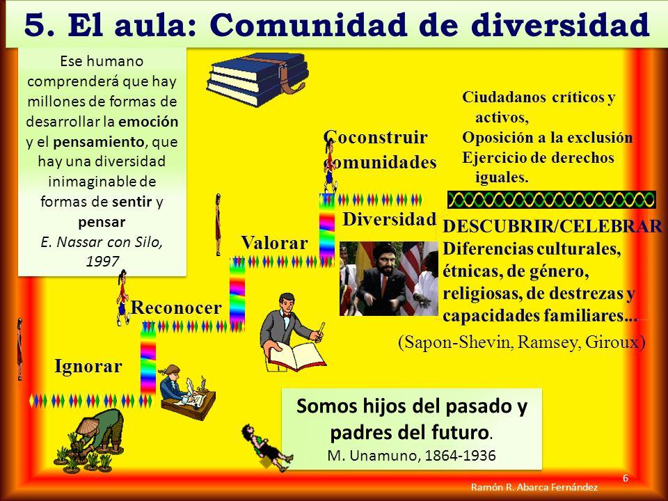 5. El aula: Comunidad de diversidad