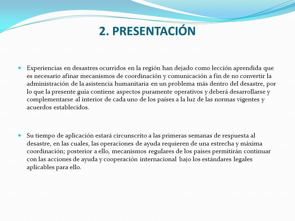 2. PRESENTACIÓN