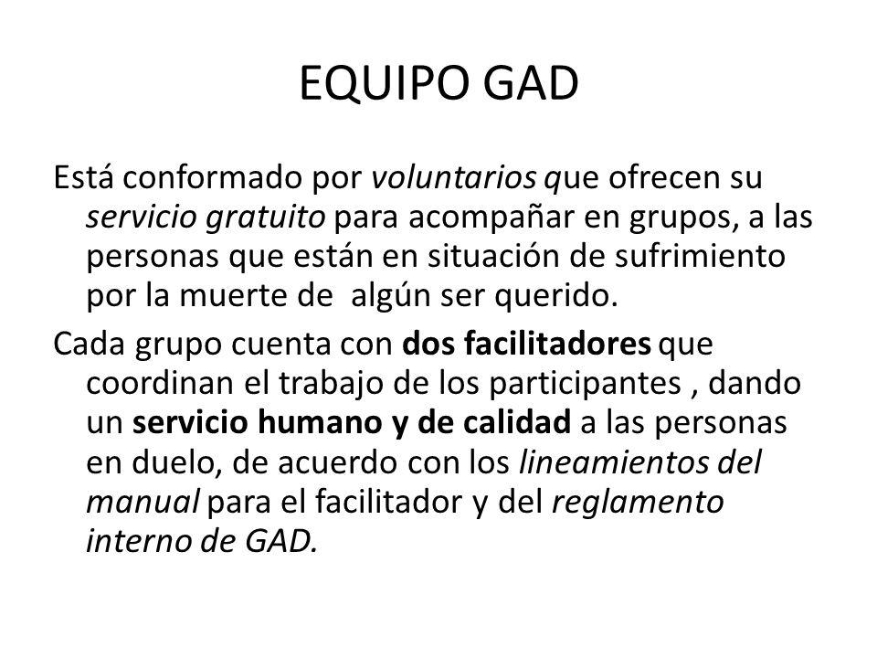 EQUIPO GAD