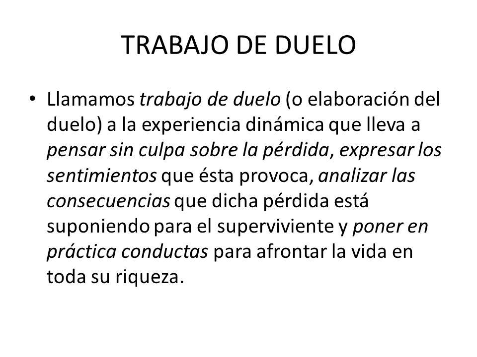 TRABAJO DE DUELO