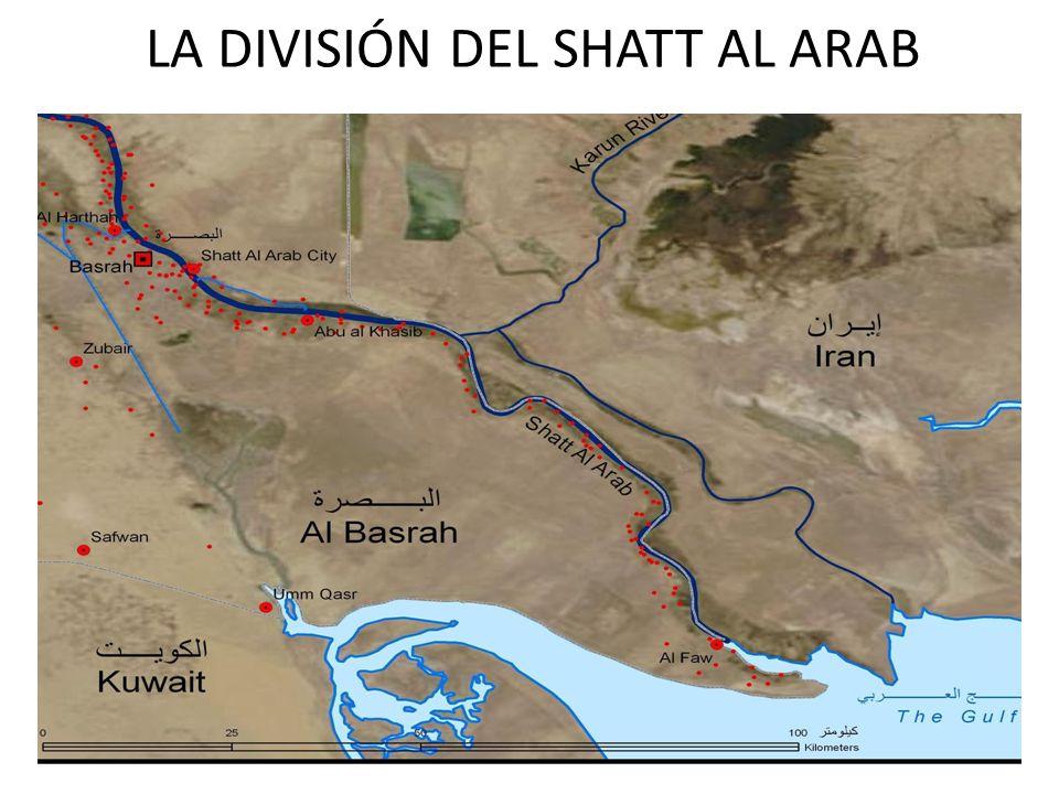 LA DIVISIÓN DEL SHATT AL ARAB