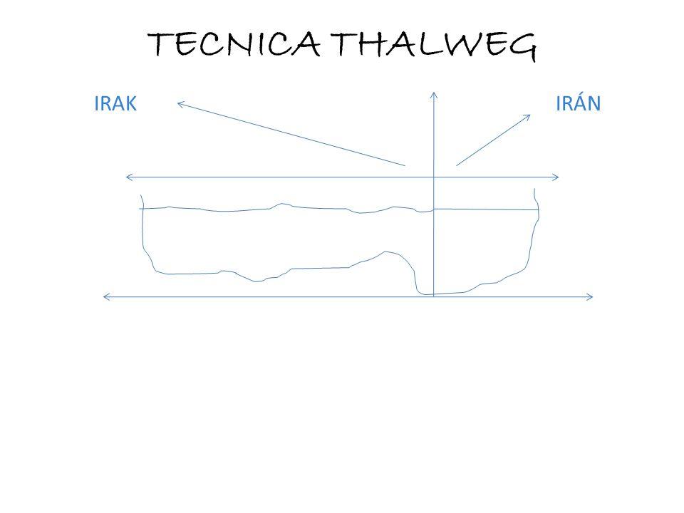 TECNICA THALWEG IRAK IRÁN