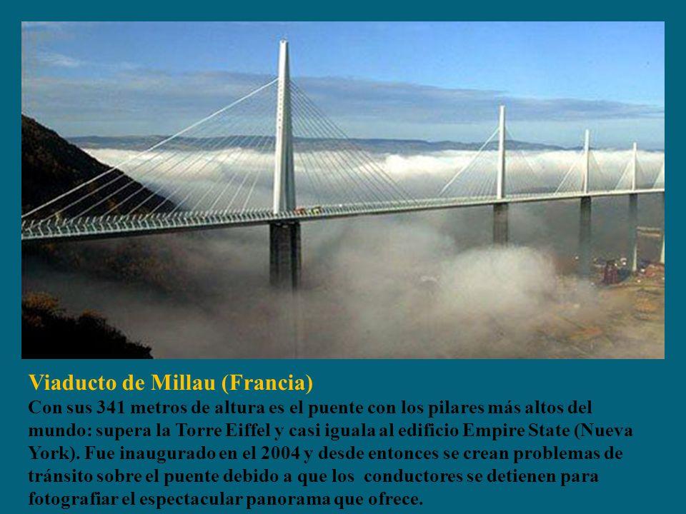 Viaducto de Millau (Francia)