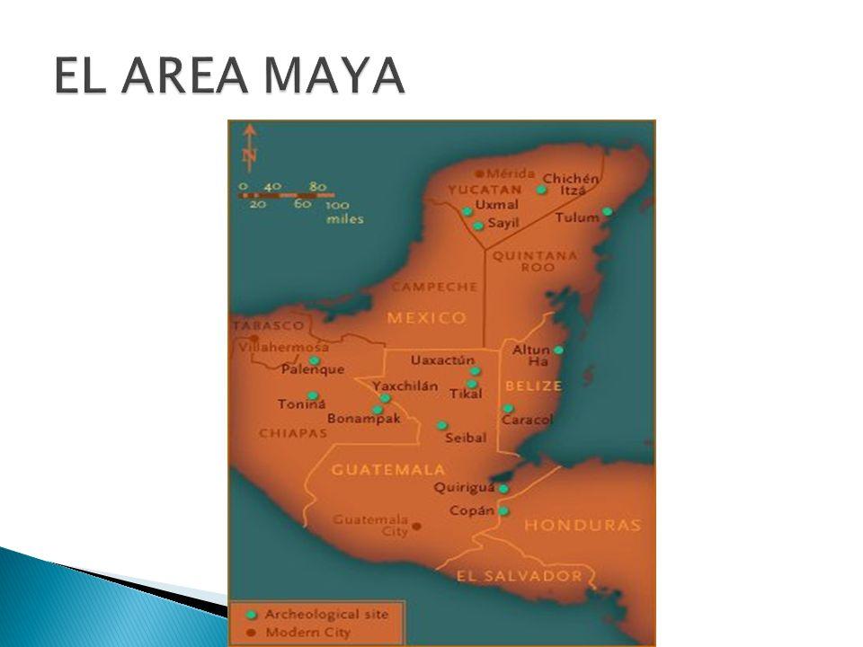 EL AREA MAYA