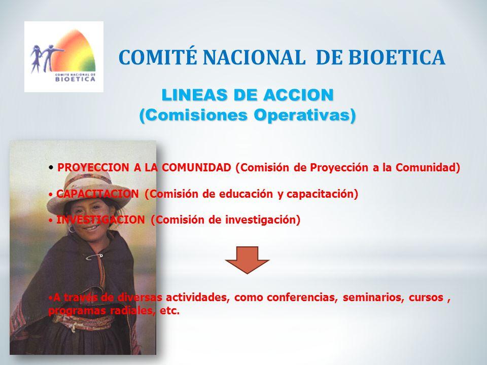 (Comisiones Operativas)