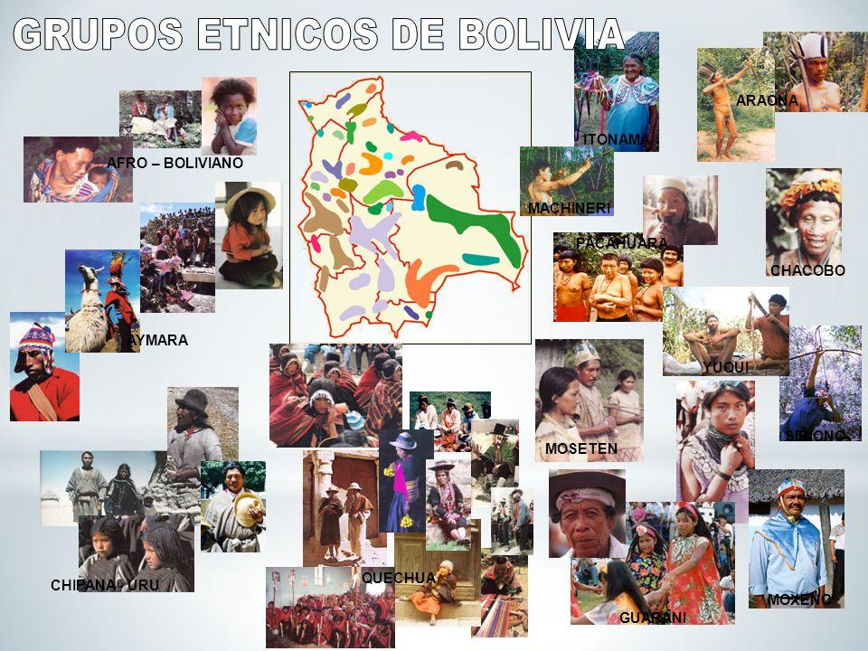 GRUPOS ETNICOS DE BOLIVIA