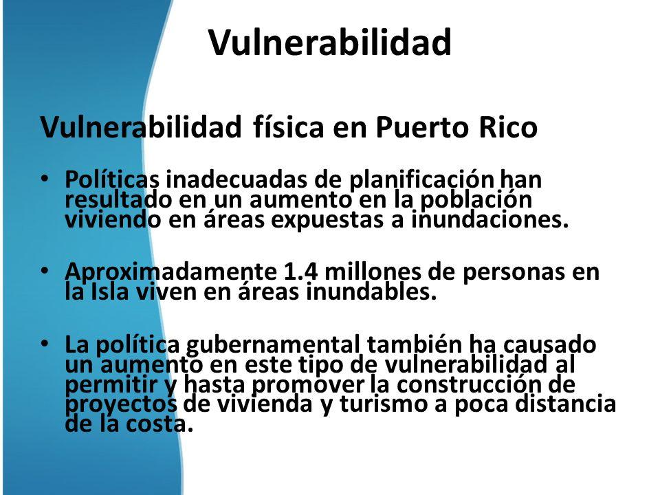 Vulnerabilidad Vulnerabilidad física en Puerto Rico