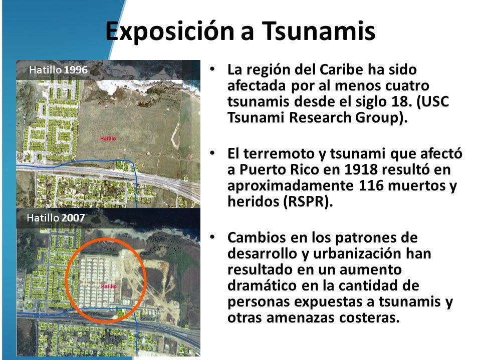Exposición a Tsunamis Hatillo 1996.