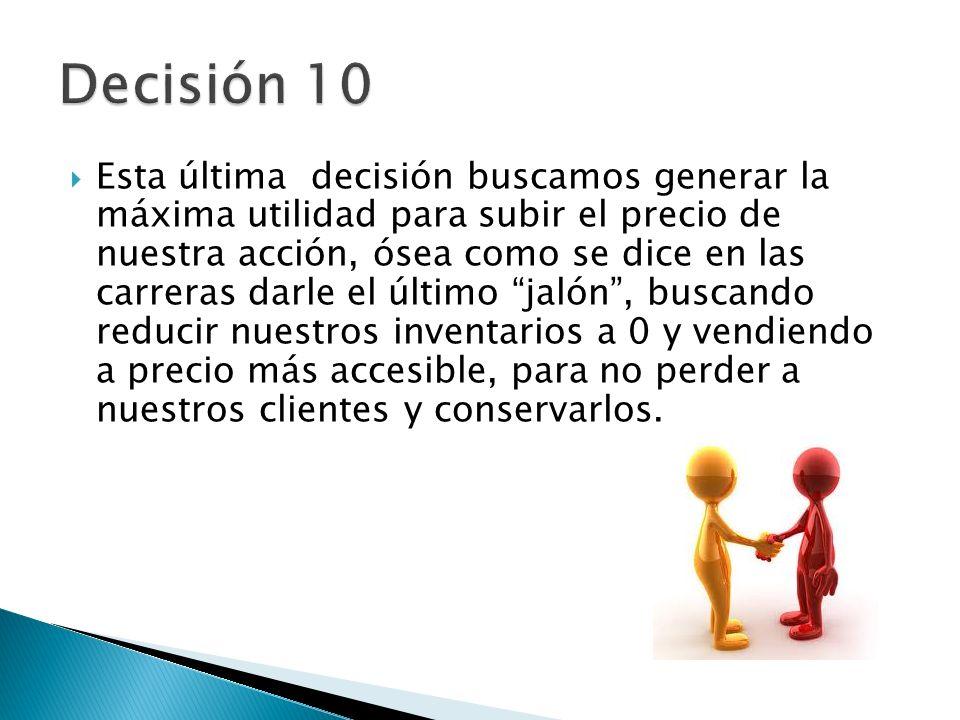 Decisión 10