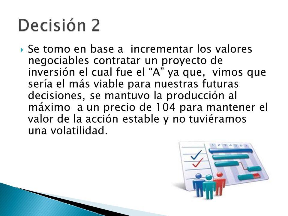 Decisión 2
