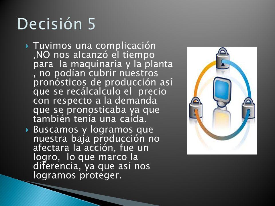 Decisión 5