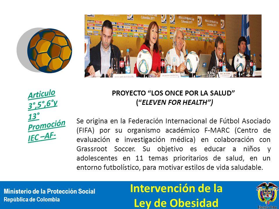 Proyecto los once por la salud