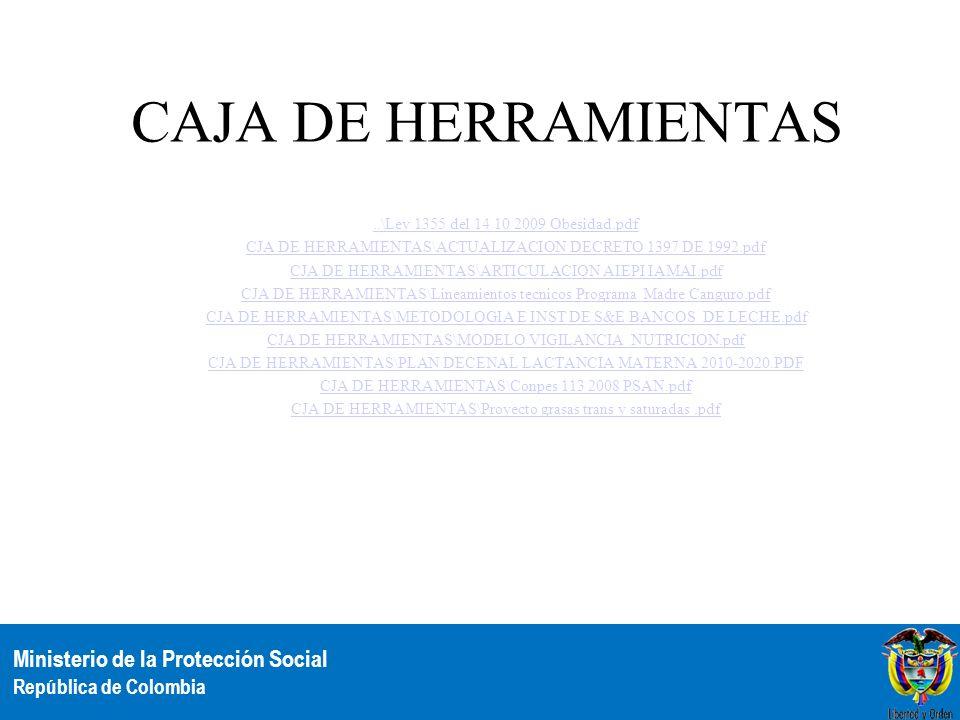 CAJA DE HERRAMIENTAS ..\Ley 1355 del 14 10 2009 Obesidad.pdf