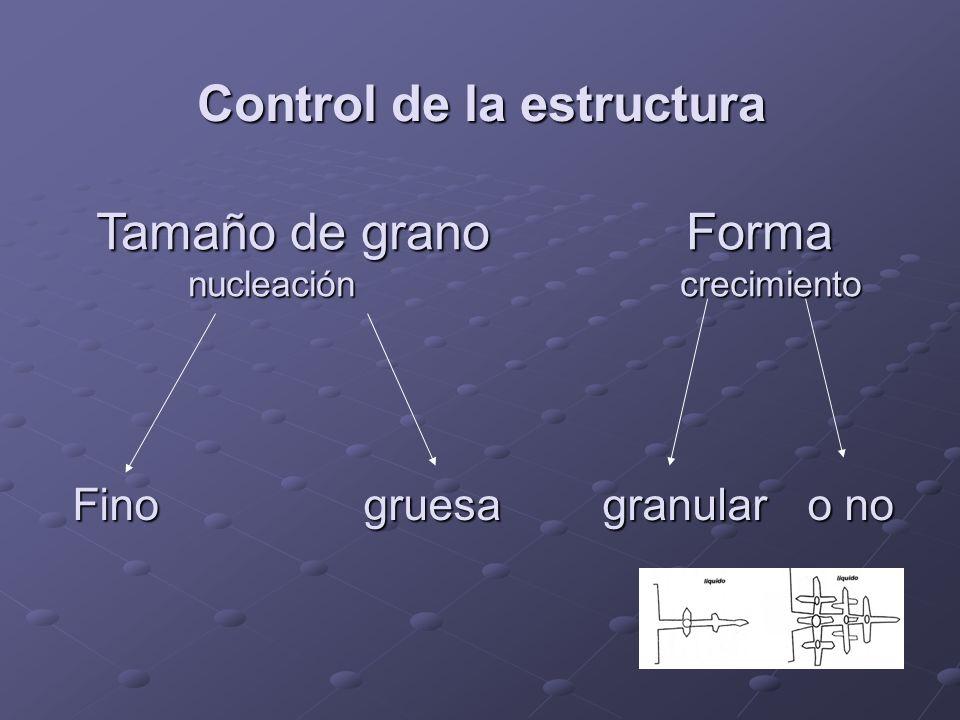 Control de la estructura