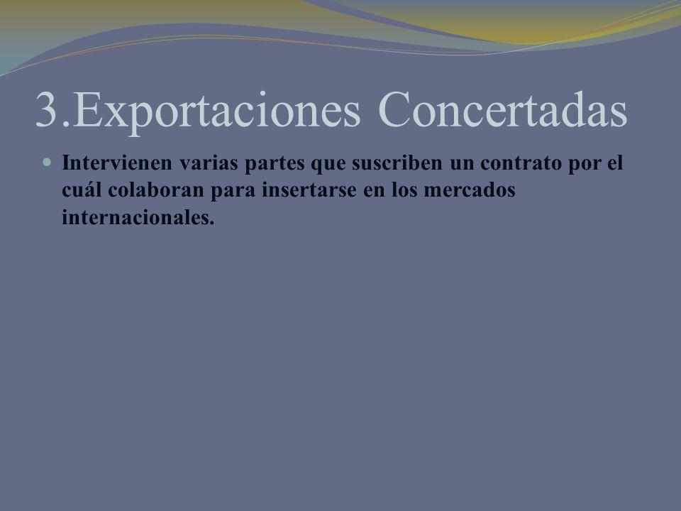 3.Exportaciones Concertadas