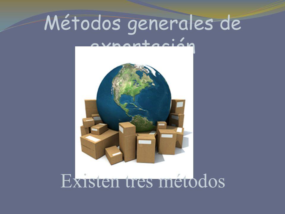 Métodos generales de exportación